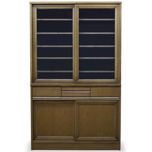 食器棚 エッセン 幅105cm高さ175cm MO(ミディアム) 514819