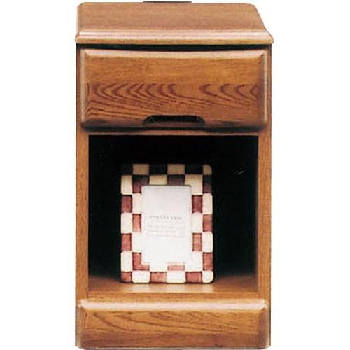 ナイトテーブルチェスト MN-F 幅30cm高さ47cm 1段 ブラウン