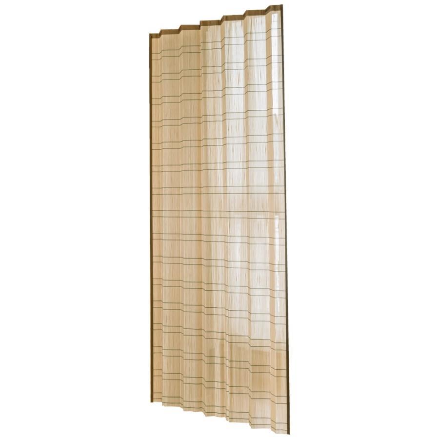 送料無料 竹すだれカーテン 100×170cm 1枚 TC1507(同梱・代引不可)