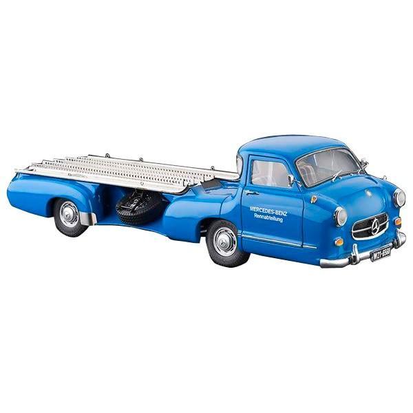 送料無料 CMC/シーエムシー メルセデス・ベンツ レーシングトランスポーター 1955 1/18スケール M-143