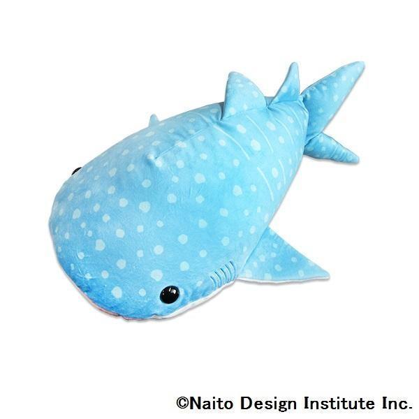 送料無料 海中散歩 ふわもこぬいぐるみ XLサイズ ジンベエザメ