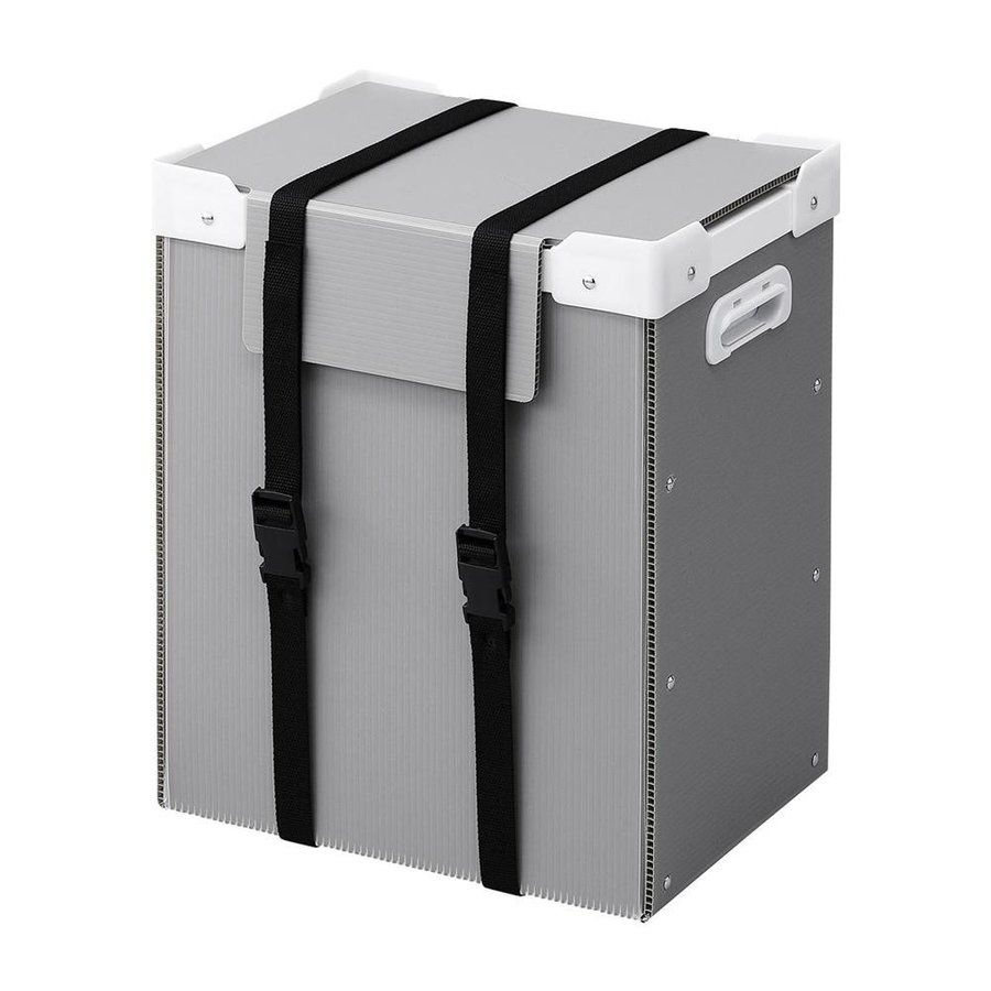 送料無料 サンワサプライ プラダン製タブレット収納ケース(10台用) プラダン製タブレット収納ケース(10台用) CAI-CABPD37