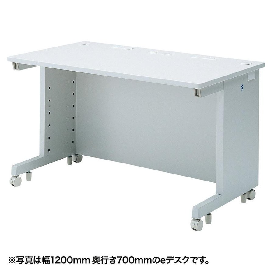 送料無料 サンワサプライ 送料無料 サンワサプライ eデスク(Wタイプ) ED-WK13065N(同梱・代引不可)