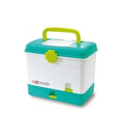 救急箱 薬ケース 薬箱 おしゃれ 大容量 収納 引き出し 整理 ケース プラスチック かわいい 救急ボックス 箱のみ kag