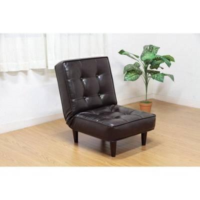 ソファー 1人掛け リクライニングチェア リクライニングチェア リクライニングチェア 1P ( ソファ 座椅子 ローソファ リビング 一人掛け 1Pソファー ) ダークブラウン 茶色 dba