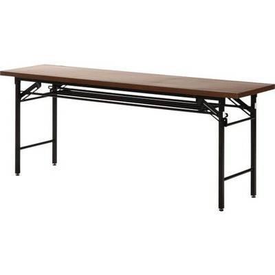 会議用テーブル 折りたたみ 折りたたみ ブラウン 茶色 テーブル 会議 机 デスク チェア 椅子 イス 勉強 学習 パソコンデスク 仕事机 オフィスデスク つくえ パソコン 事