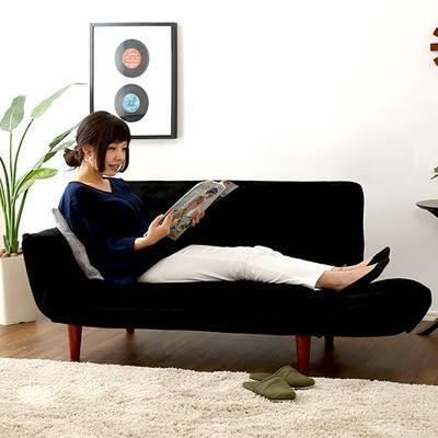 ソファー ソファ 2人掛け 二人掛け  ソファーベッド カウチソファー 座椅子 低い ローソファー こたつ リクライニング|kag