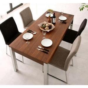 ダイニングテーブル ダイニングテーブルセット 5点 4人用 ホワイト 白 ビターブラウン 茶色 食卓テーブル テーブル チェア 椅子|kag