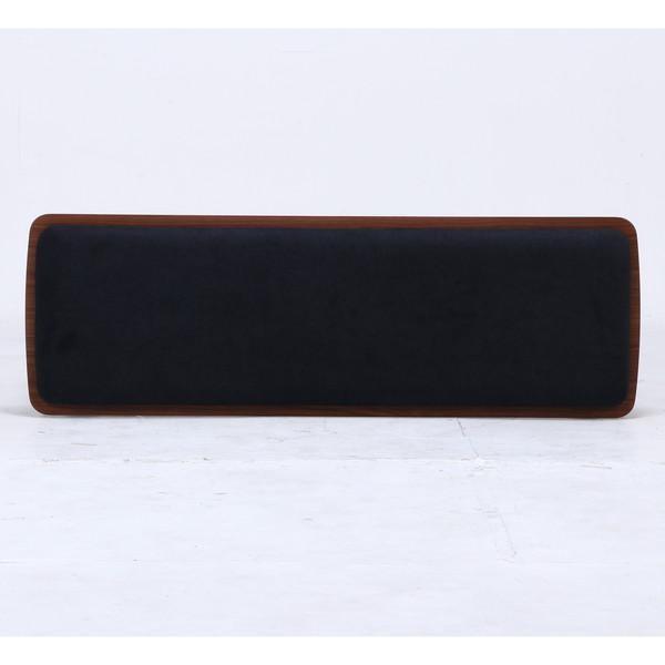 ベンチ ダイニングベンチ 椅子 おしゃれ 木製 安い 北欧 2人掛け 二人掛け 長椅子 ダイニングチェア いす 玄関 ブラウン×ブラック 幅110 奥行36 高さ43 kag 04