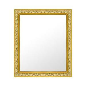 フレームミラー フレームミラー 鏡 ミラー 壁掛け鏡 壁掛けミラー ウオールミラー (ゴールド 金箔仕立て):26-6704-391mmx493mm