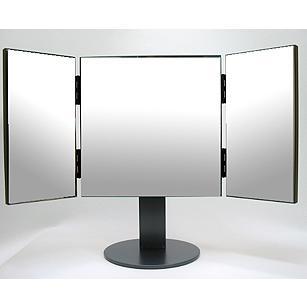 鏡 ミラー 三面鏡 卓上鏡 卓上ミラー スタンドミラー(業務用、プロ仕様)(卓上 スタンドミラー(業務用、プロ仕様)(卓上 鏡 ミラー スタンド 店舗 ショップ 仕様)