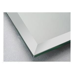 鏡 鏡 ミラー 板鏡(配送+施工)(通常の鏡)(防湿 防錆 防食加工)(四角形)(板厚5ミリ)(15mm幅面取り加工) 表に記載のサイズより小さいサイズ×2枚