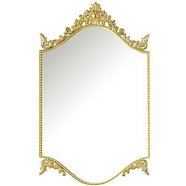 フレームミラー 鏡 ミラー ミラー 壁掛け鏡 壁掛けミラー ウオールミラー (ゴールド 金 金色):エレガンス a-2016n