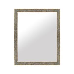 フレームミラー フレームミラー 鏡 ミラー 壁掛け鏡 ウオールミラー(パステルカラーやユニークな色):LM36アイボリー Mサイズ