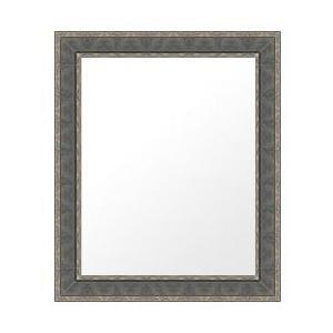フレームミラー フレームミラー 鏡 ミラー 壁掛け鏡 ウオールミラー(パステルカラーやユニークな色):lm533bl-w525mmxh626mmxd24mm-se