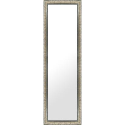 フレームミラー 鏡 ミラー 姿見 姿見鏡(シルバー、銀箔仕立て):LZ5159 姿見 姿見鏡(シルバー、銀箔仕立て):LZ5159 銀箔(壁掛け 壁付け 姿見 姿見鏡 全身 全身鏡 壁 化粧鏡 玄関)