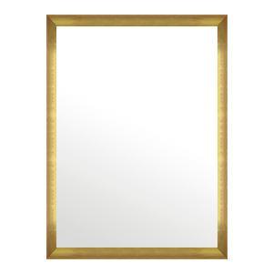 鏡 ミラー 壁掛け鏡 ウォールミラー:マルタ ウォールミラー:マルタ ゴールド&オレンジ 718mmx968mm
