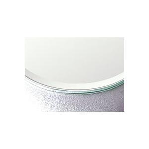 鏡 ミラー ミラー のカット販売。クリアーミラー 通常の鏡 5mm厚 約15ミリ幅面取り加工:406mmx305mm