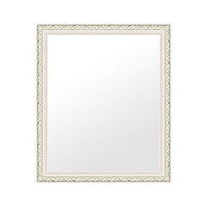 フレームミラー フレームミラー 鏡 ミラー 壁掛け鏡 ウオールミラー(シルバー 銀箔仕立て):ven38lw-w465mmxh566mmxd25mm-se