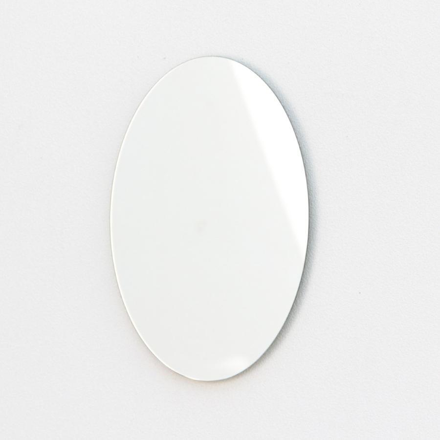 鏡 貼る 壁掛け トイレ おしゃれ 楕円 オーバル|kagamishop|13