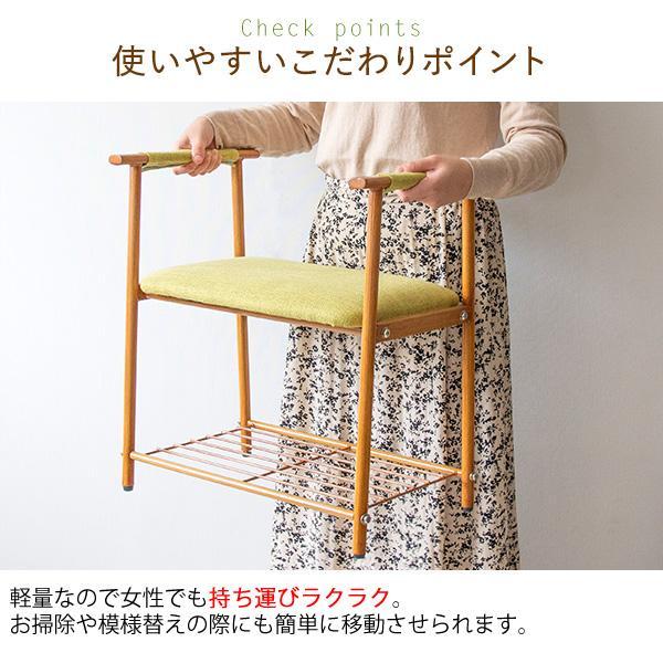 玄関チェア 椅子 おしゃれ スツール チェア 玄関収納 玄関ベンチ 収納付き ベンチ 腰掛け kagle 09