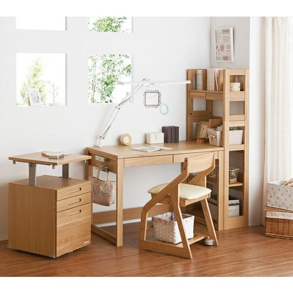 シェルフ コイズミ ビーノ BDB-078NS BDB-178WT  KOIZUMI 木製 学習デスク 学習机 本棚 シンプル ブランド ナチュラル ビーノシリーズ 子供部屋|kagu-cocoro|05