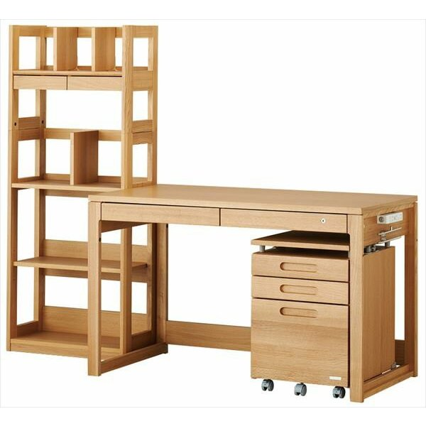シェルフ コイズミ ビーノ BDB-078NS BDB-178WT  KOIZUMI 木製 学習デスク 学習机 本棚 シンプル ブランド ナチュラル ビーノシリーズ 子供部屋|kagu-cocoro|08