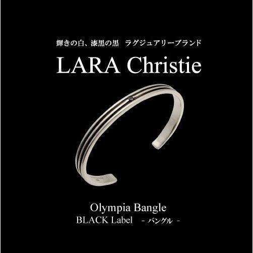 ラウンド  LARA BLACK Christie Label オリンピア ララクリスティー オリンピア バングル BLACK Label メンズ, 宮古郡:c75ef3af --- airmodconsu.dominiotemporario.com
