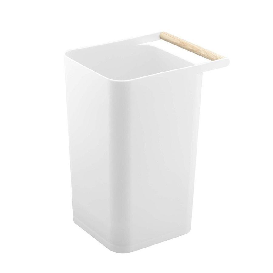 トラッシュカン コモ ゴミ箱 取っ手付ゴミ箱 持ち運びしやすい 回収しやすい ナチュラル スクエア型 ハンドル付|kagu-piena|03