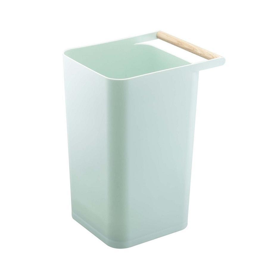 トラッシュカン コモ ゴミ箱 取っ手付ゴミ箱 持ち運びしやすい 回収しやすい ナチュラル スクエア型 ハンドル付|kagu-piena|07