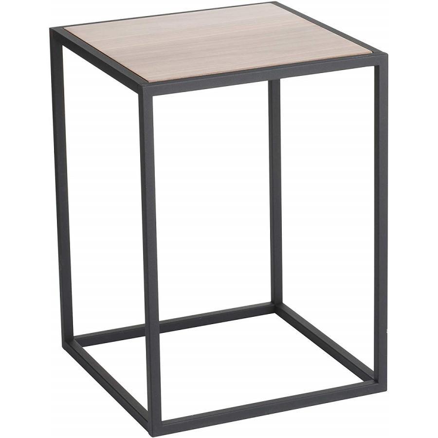 テーブル サイドテーブル タワー スクエア ホワイト ブラック 四角形 スタイリッシュ|kagu-piena|02
