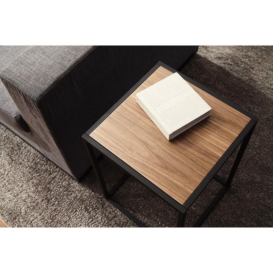 テーブル サイドテーブル タワー スクエア ホワイト ブラック 四角形 スタイリッシュ|kagu-piena|11