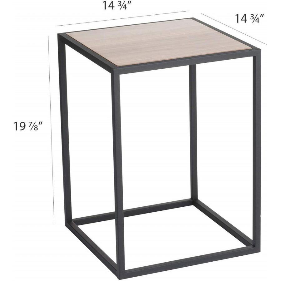 テーブル サイドテーブル タワー スクエア ホワイト ブラック 四角形 スタイリッシュ|kagu-piena|12