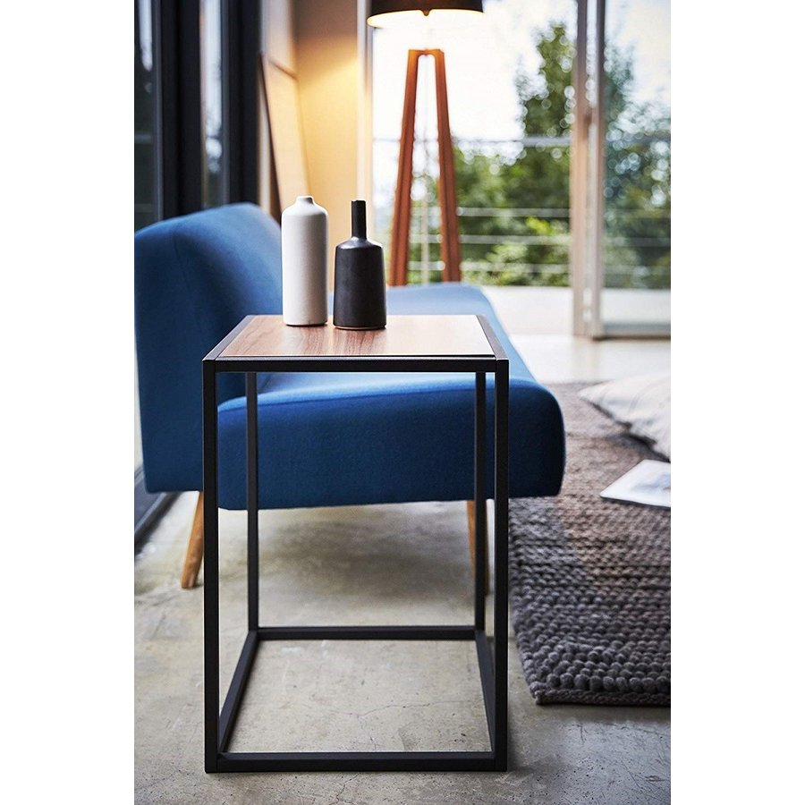 テーブル サイドテーブル タワー スクエア ホワイト ブラック 四角形 スタイリッシュ|kagu-piena|06