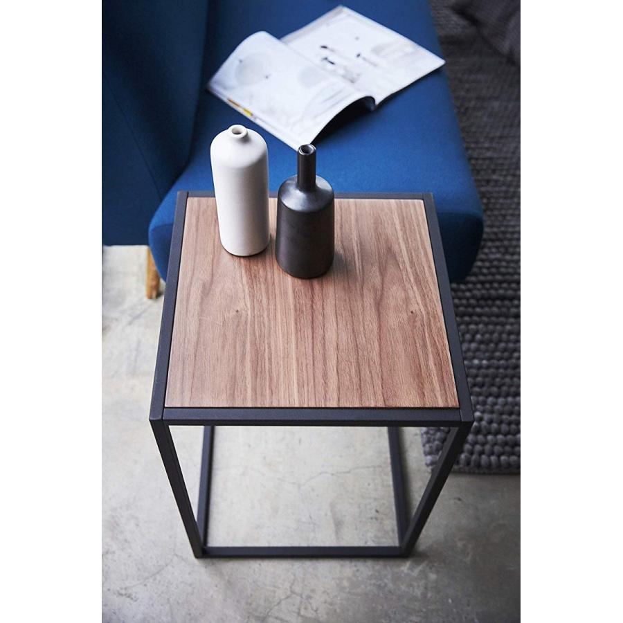 テーブル サイドテーブル タワー スクエア ホワイト ブラック 四角形 スタイリッシュ|kagu-piena|10
