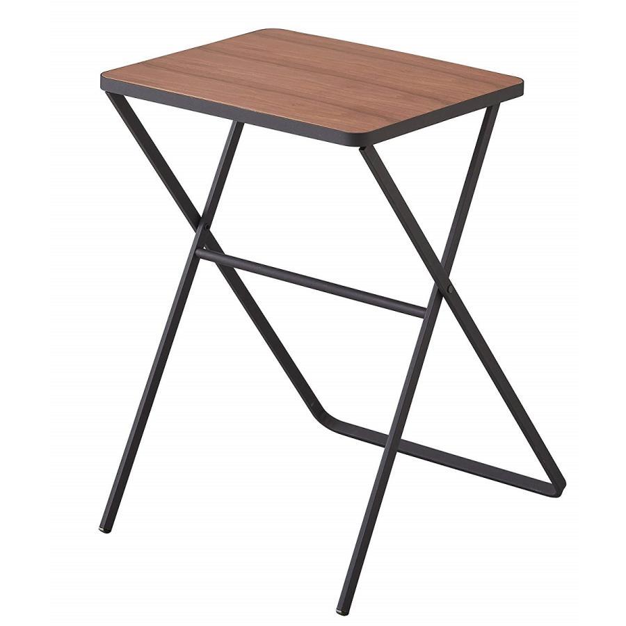 テーブル 折り畳みテーブル タワー ホワイト ブラック サイドテーブル インテリア台 ギフト|kagu-piena
