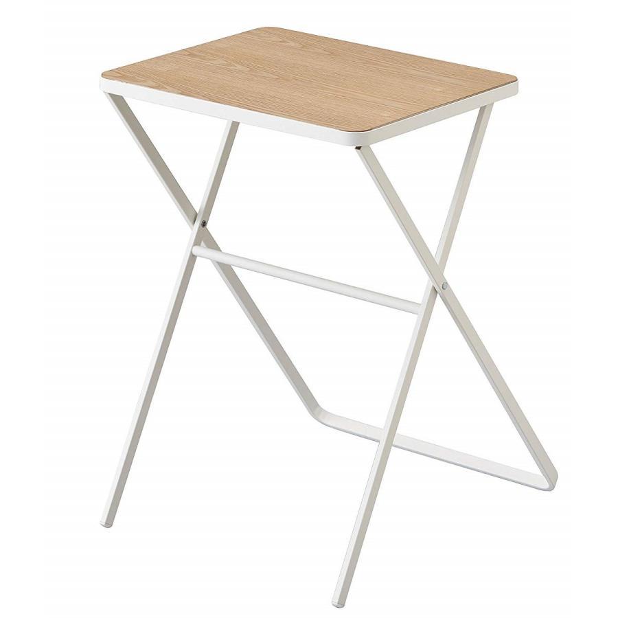 テーブル 折り畳みテーブル タワー ホワイト ブラック サイドテーブル インテリア台 ギフト|kagu-piena|02