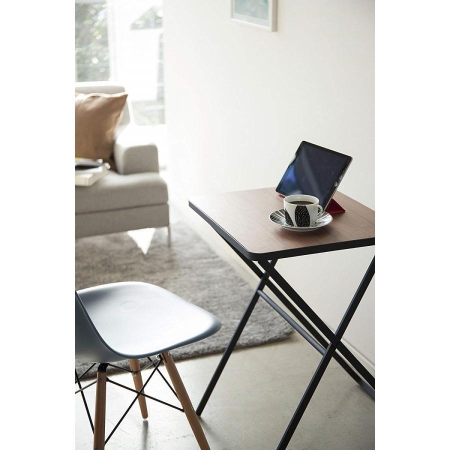 テーブル 折り畳みテーブル タワー ホワイト ブラック サイドテーブル インテリア台 ギフト|kagu-piena|12