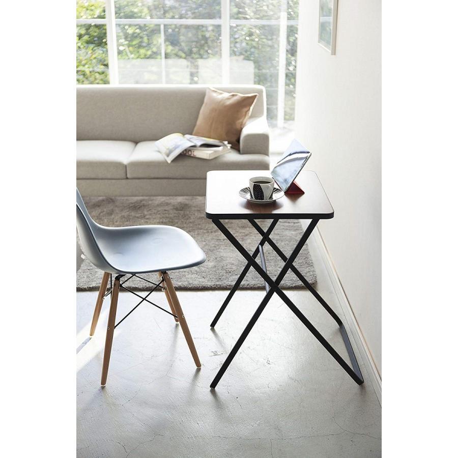 テーブル 折り畳みテーブル タワー ホワイト ブラック サイドテーブル インテリア台 ギフト|kagu-piena|13