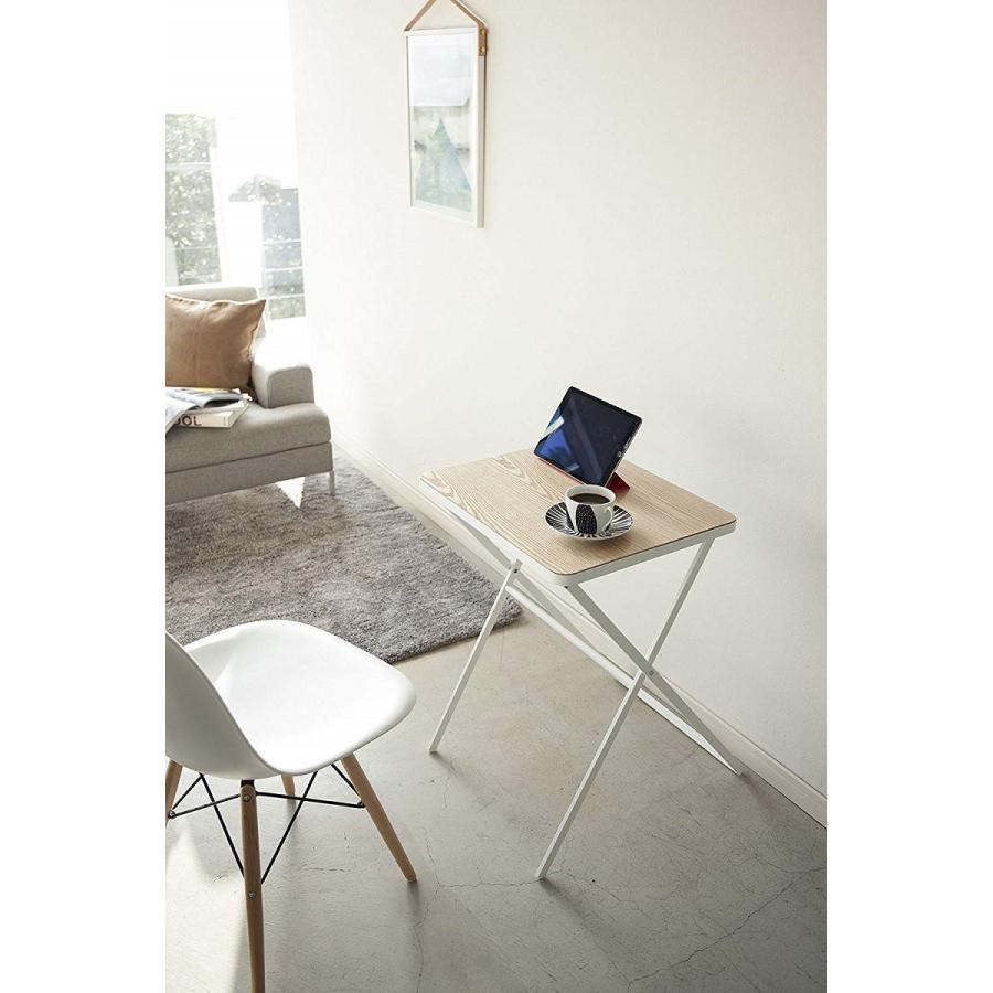 テーブル 折り畳みテーブル タワー ホワイト ブラック サイドテーブル インテリア台 ギフト|kagu-piena|04