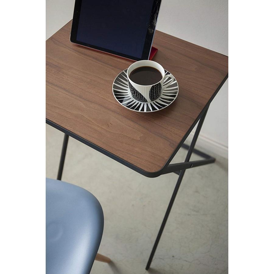 テーブル 折り畳みテーブル タワー ホワイト ブラック サイドテーブル インテリア台 ギフト|kagu-piena|06