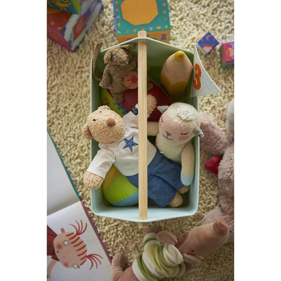 おもちゃ収納 収納ボックス ファボリ ホワイト ベージュ ブラウン ブルー おもちゃ箱 天然木|kagu-piena|17