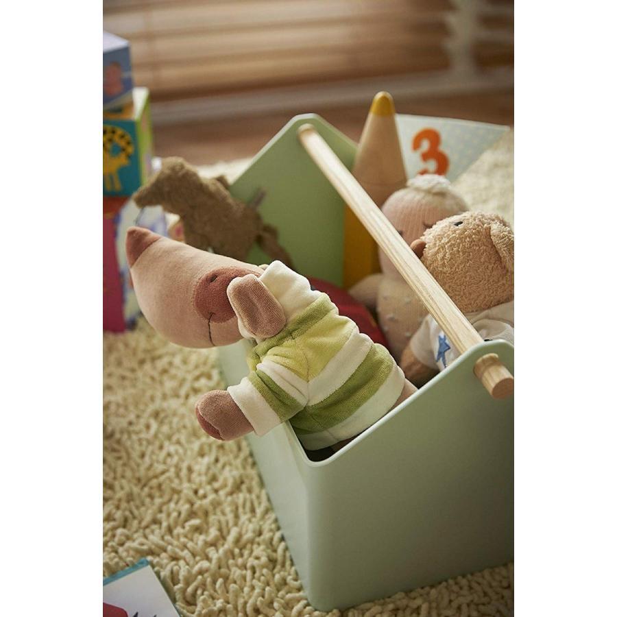 おもちゃ収納 収納ボックス ファボリ ホワイト ベージュ ブラウン ブルー おもちゃ箱 天然木|kagu-piena|18