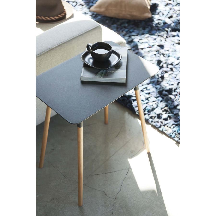 サイドテーブル 角型 ホワイト ブラック プレーン 家具 ソファーサイド ベットサイド|kagu-piena|10