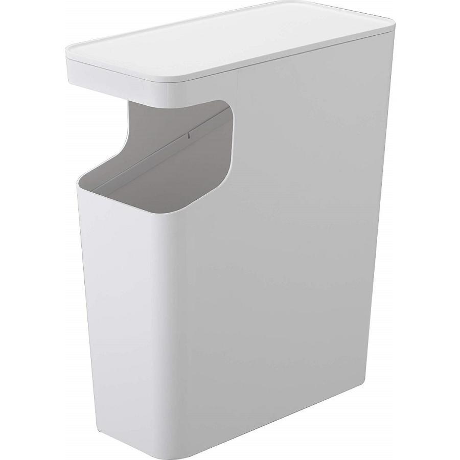 ゴミ箱 サイドテーブル ナイトテーブル ダストボックス & タワー ホワイト ブラック 袋止め kagu-piena