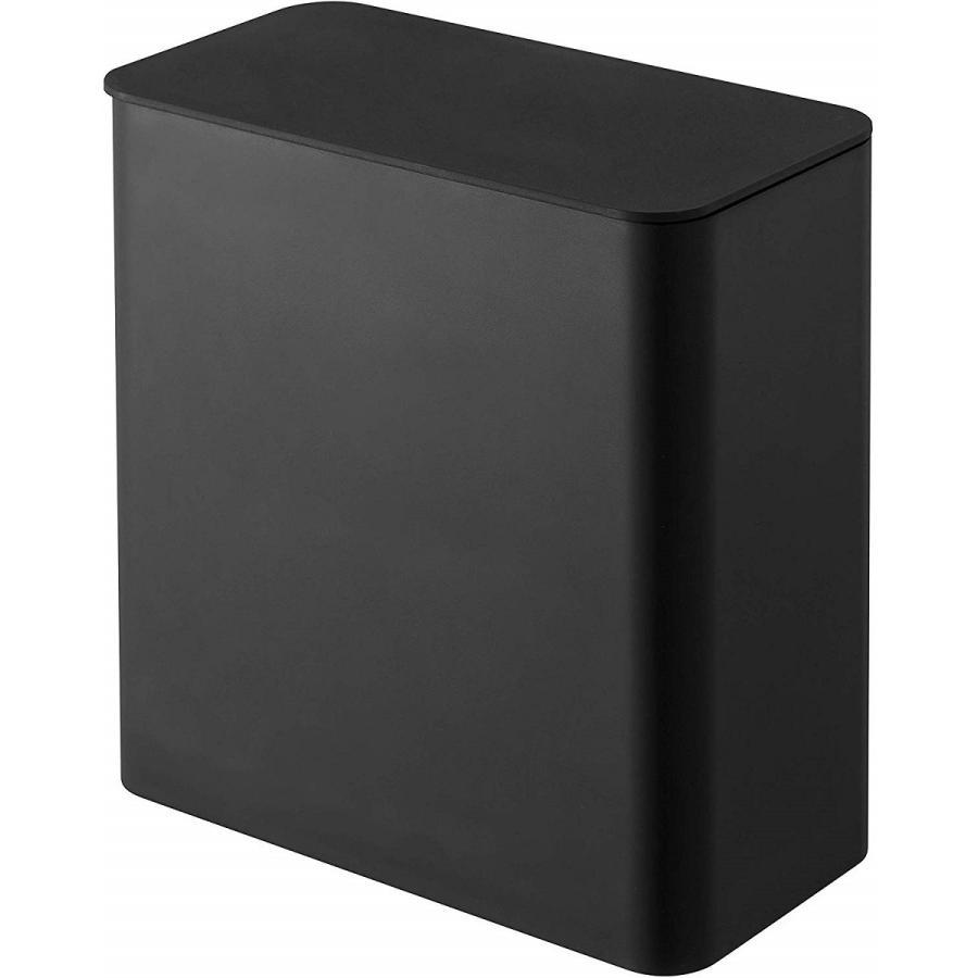 ランドリー収納 ホワイト ブラック タワー マグネット 洗濯機横 ボックス フタ付き ラック|kagu-piena|02