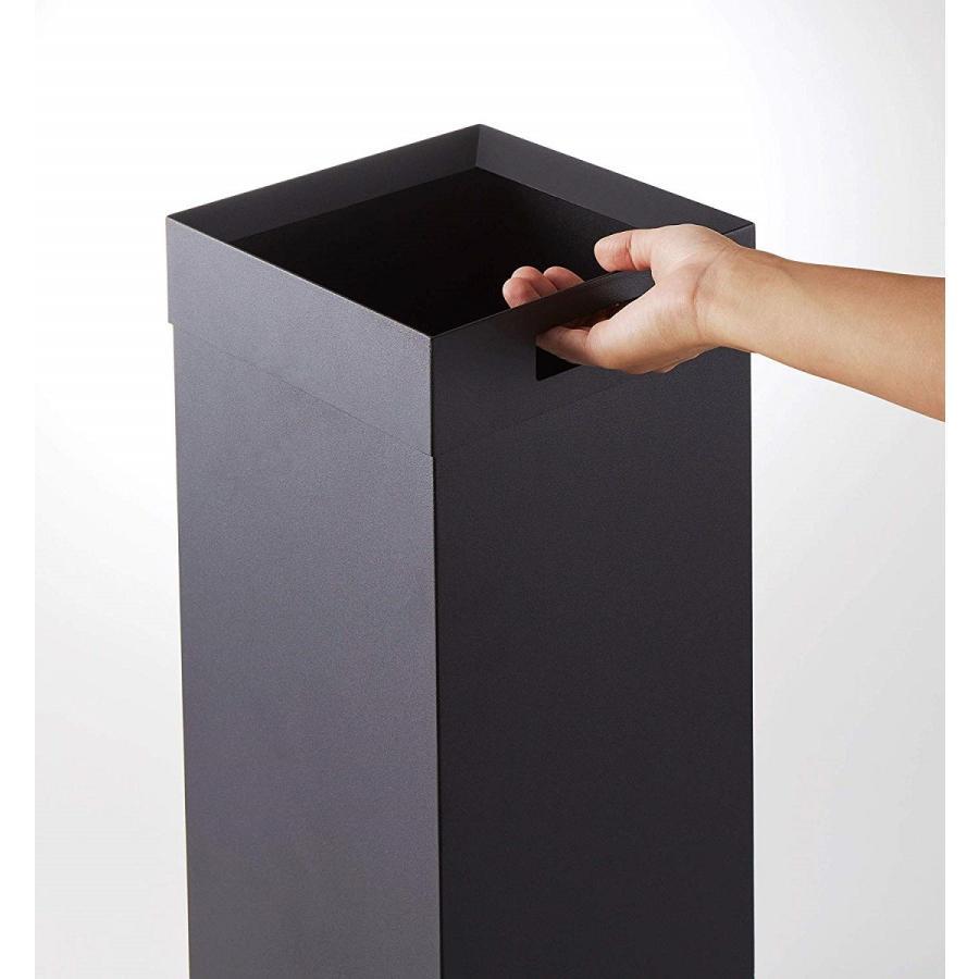 トラッシュカン 角型ロング タワー ゴミ箱 袋が見えない スリム ダストボックス|kagu-piena|11
