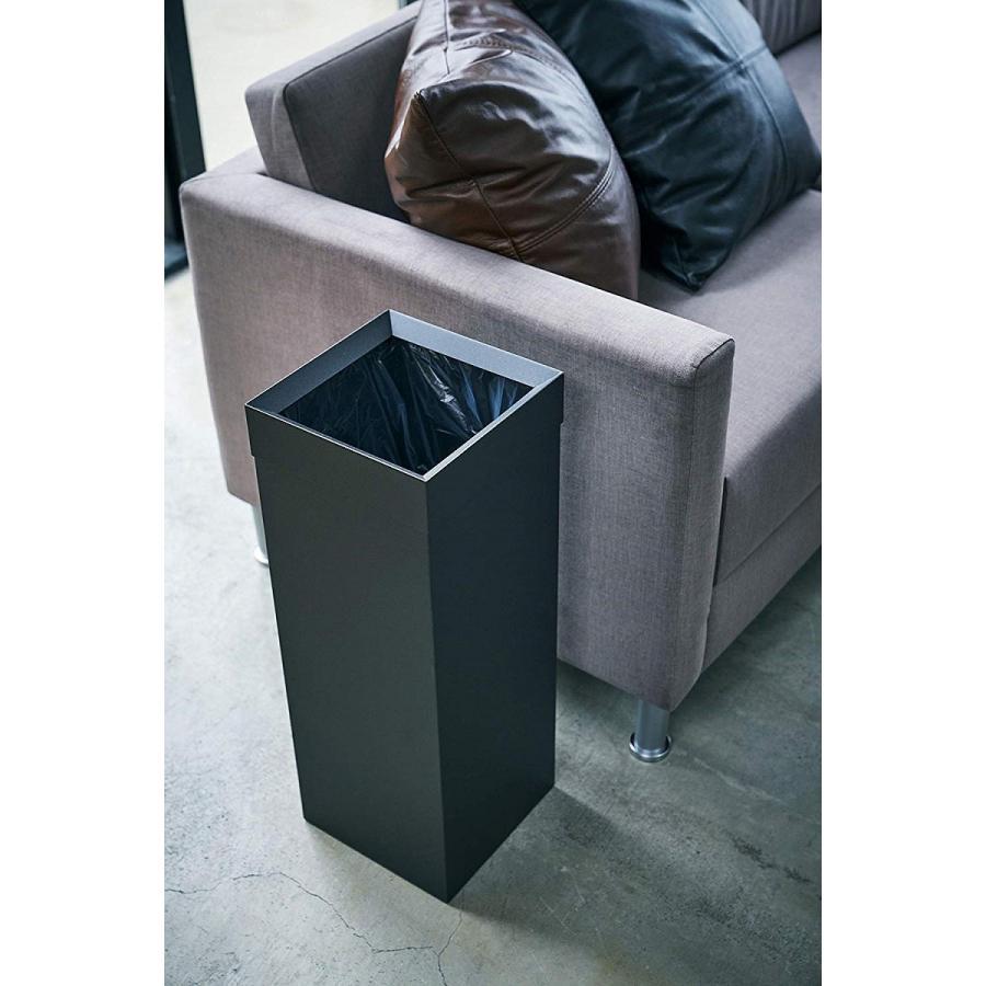 トラッシュカン 角型ロング タワー ゴミ箱 袋が見えない スリム ダストボックス|kagu-piena|08
