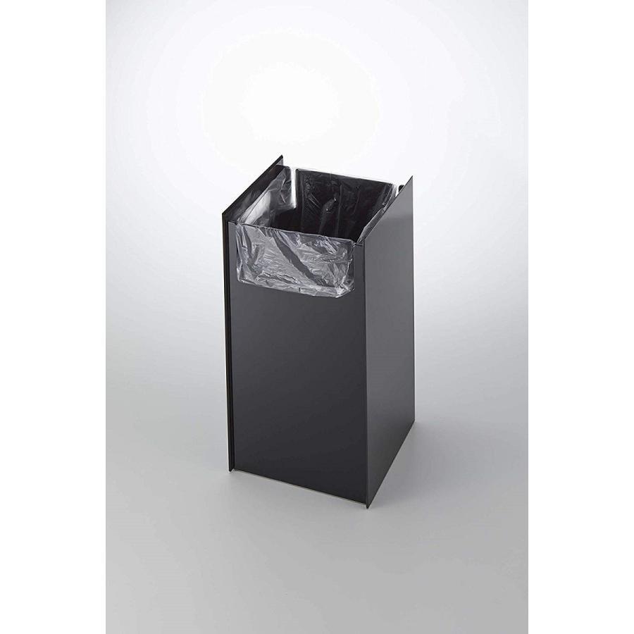 フタなしゴミ箱 タワー ダストボックス トラッシュカン スクエア 角型 スタイリッシュ 持ち手|kagu-piena|11