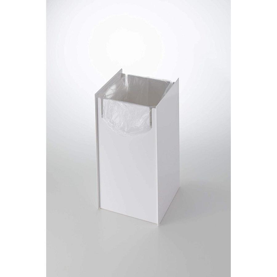 フタなしゴミ箱 タワー ダストボックス トラッシュカン スクエア 角型 スタイリッシュ 持ち手|kagu-piena|10